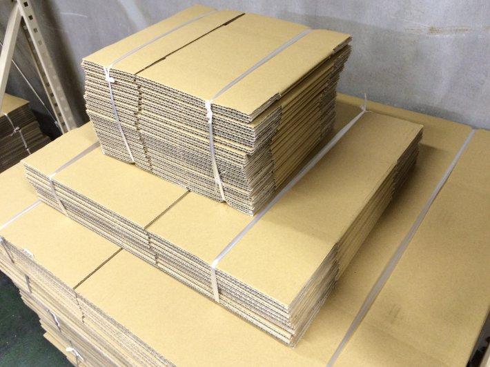 多様なダンボール資材取り揃え 通販/卸の様々な要望に対応した梱包材